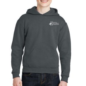 Showteam Ruocco Youth Pullover Hoodie Black Heather