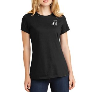 Showteam T-Shirt Ladies Black